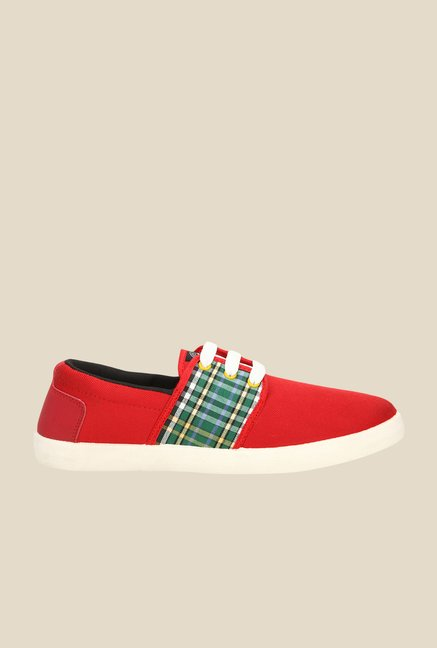 Yepme Red & Green Sneakers