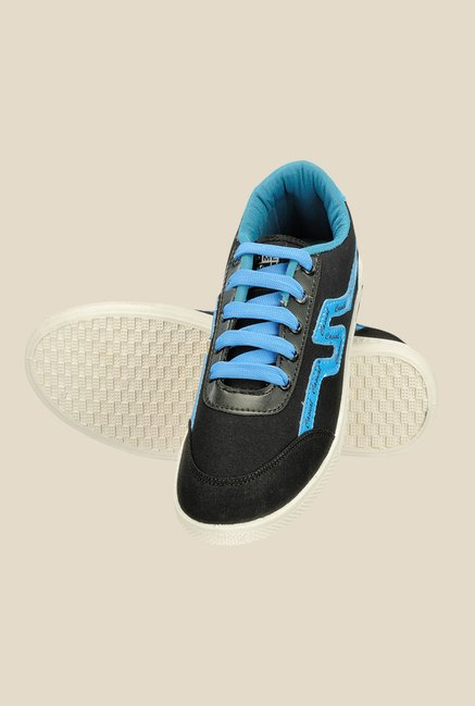 Yepme Black & Blue Sneakers