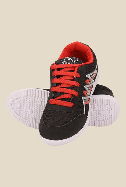 Yepme Black & Red Sneakers