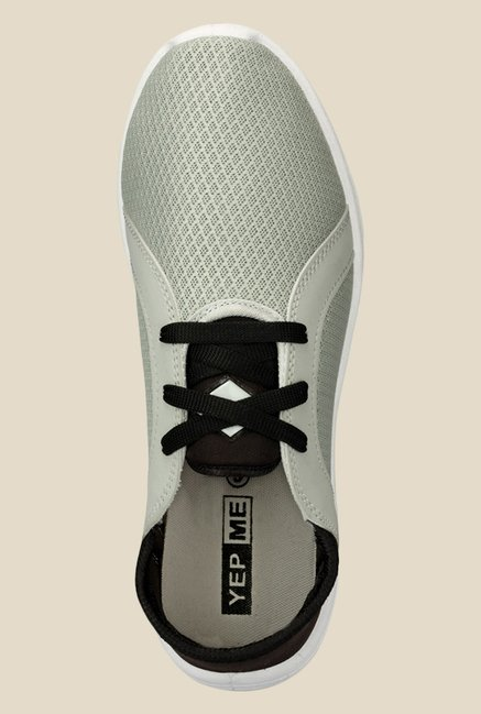 Yepme Grey & Black Sneakers