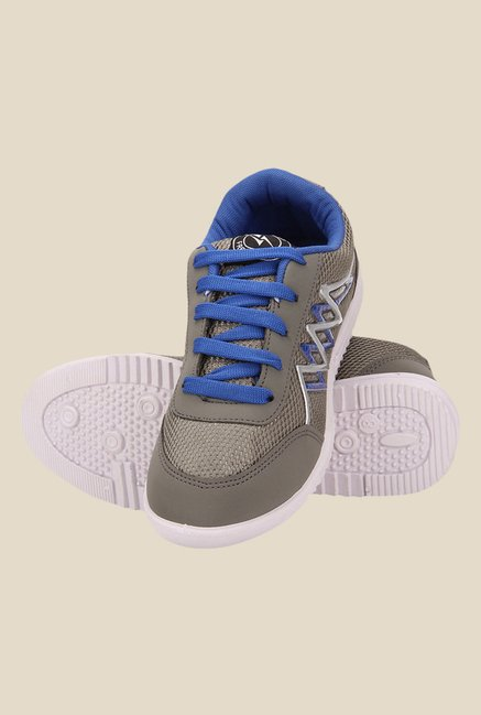 Yepme Grey & Blue Sneakers
