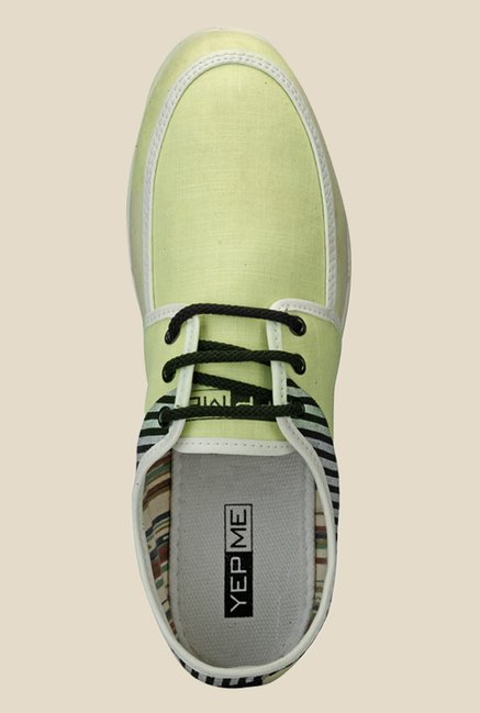 Yepme Green & Black Sneakers