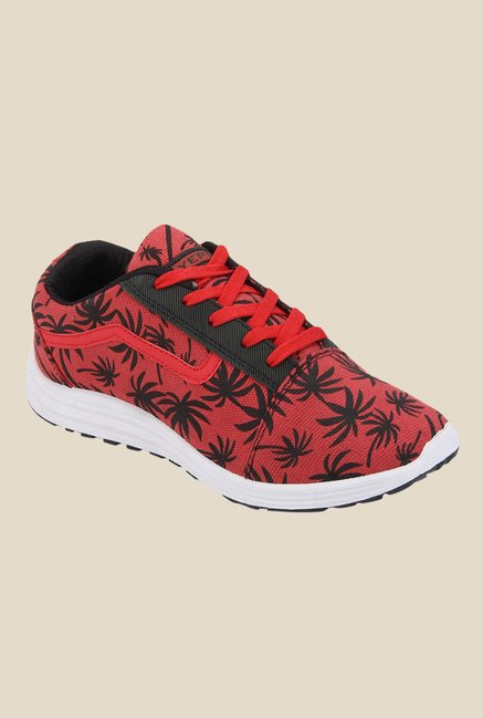 Yepme Red & Black Sneakers