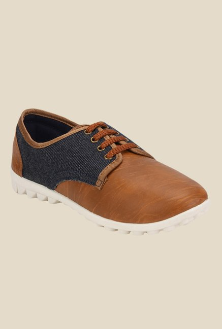 Yepme Brown & Navy Sneakers