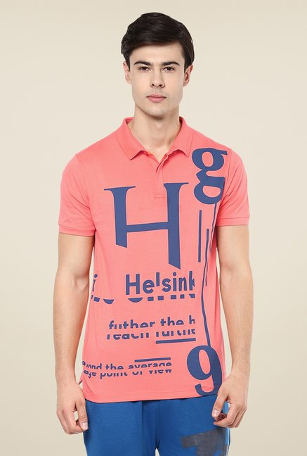 Yepme Coral Ian High Performance Polo T Shirt