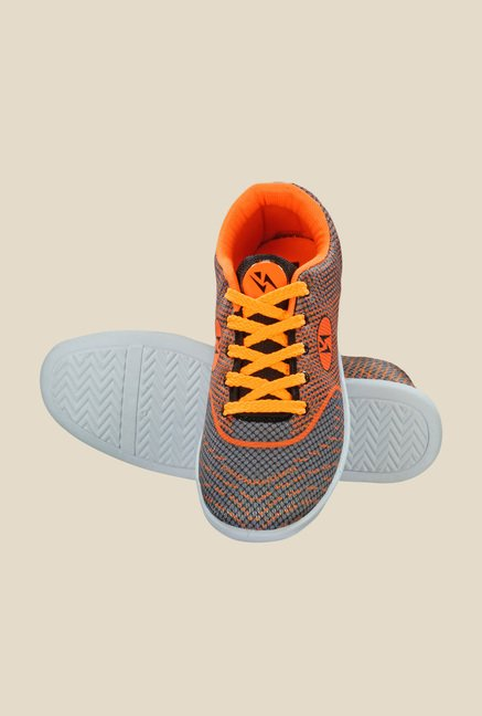 Yepme Orange & Grey Sneakers