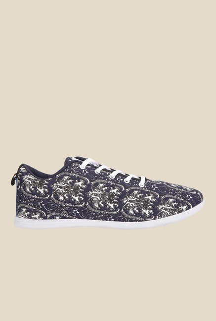 Yepme Navy & White Sneakers