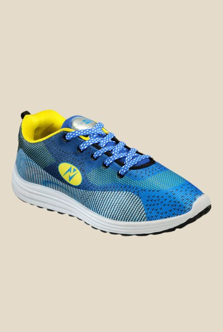 Yepme Blue & Yellow Sneakers