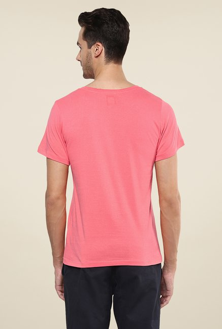 Yepme We Rule The Streets Pink Printed T Shirt