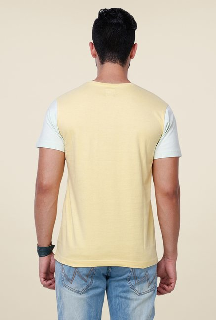 Yepme Stockholm Yellow Printed T Shirt