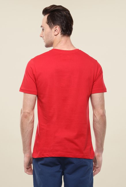 Yepme Sam's Carwash Red Printed T Shirt