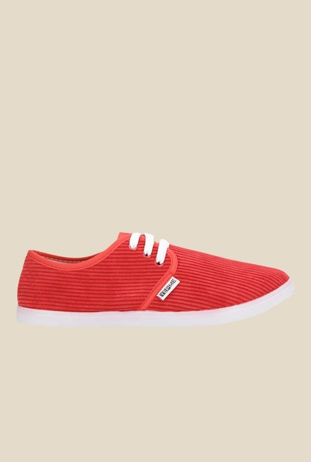 Yepme Red & White Sneakers