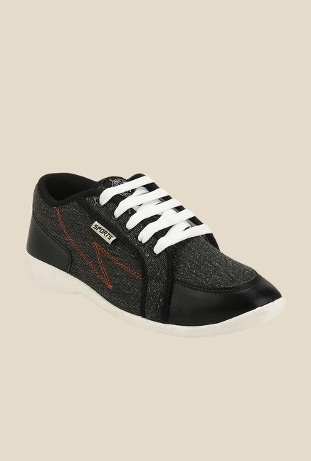 Yepme Black & White Sneakers