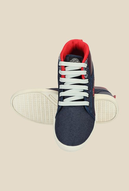 Yepme Navy & Red Sneakers