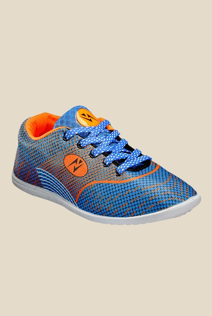 Yepme Blue & Orange Sneakers