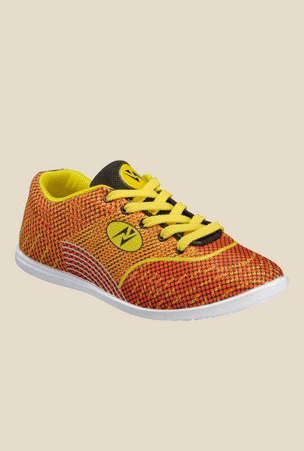 Yepme Orange & Yellow Sneakers