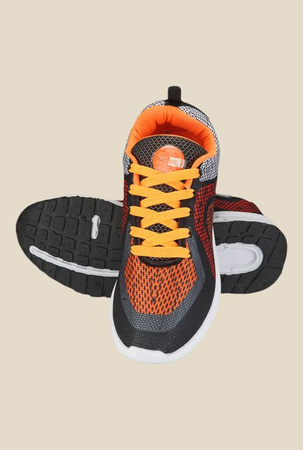 Yepme Orange & Black Sneakers