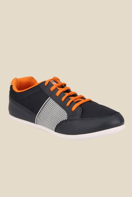 Yepme Navy & Orange Sneakers