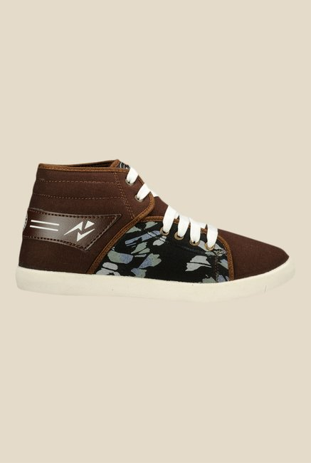 Yepme Brown & White Sneakers