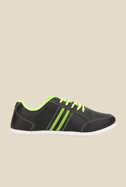 Yepme Black & Green Sneakers