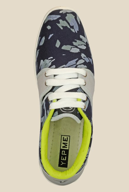 Yepme Navy & Grey Sneakers
