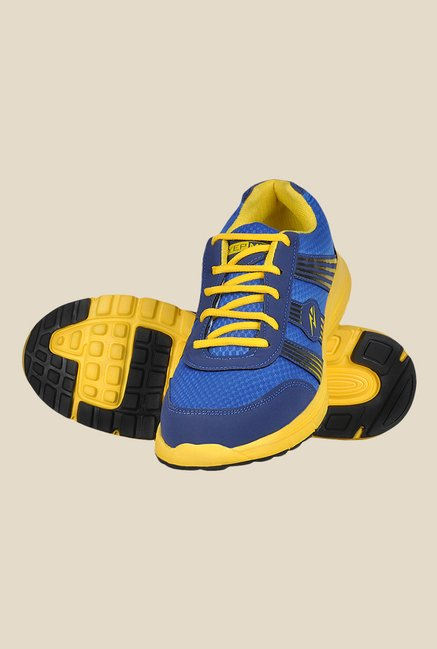 Yepme Premium Blue & Yellow Running Shoes