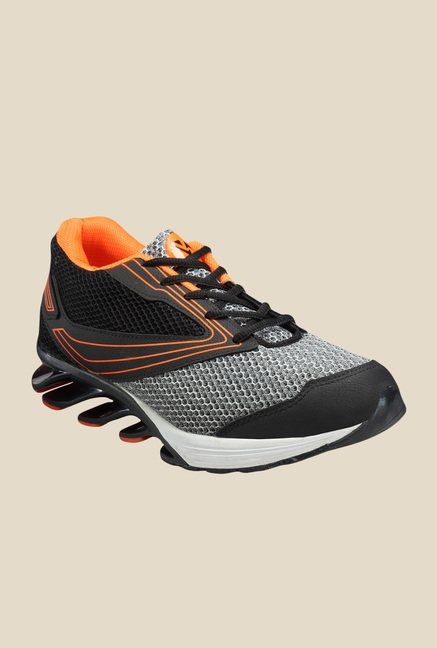 Yepme Blade Grey & Black Running Shoes