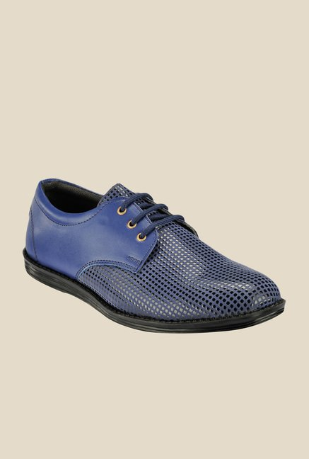 Yepme Blue Derby Shoes