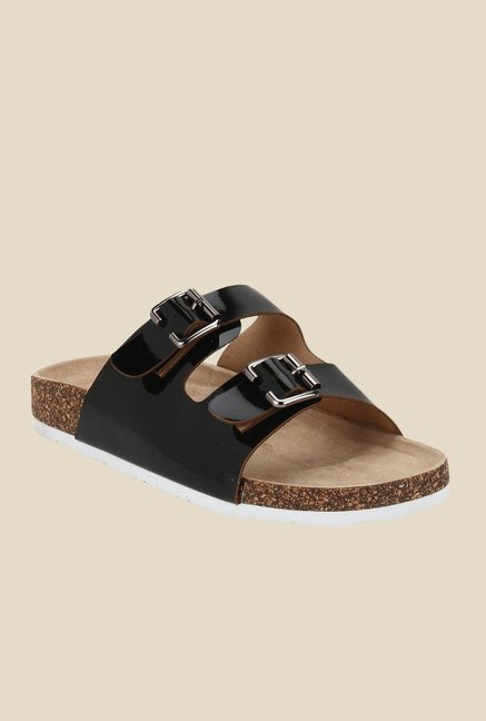 Yepme Black & Brown Casual Sandals