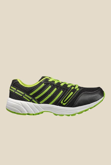 Yepme Black & Green Running Shoes