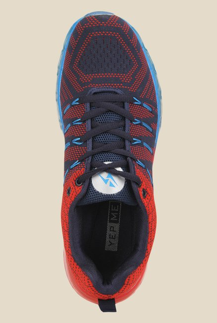 Yepme Navy & Red Running Shoes