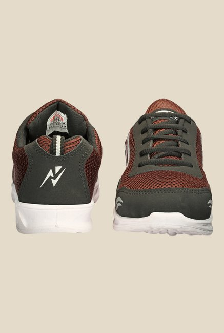 Yepme Brown & Olive Running Shoes