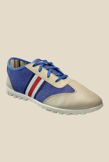 Yepme Blue & Beige Running Shoes