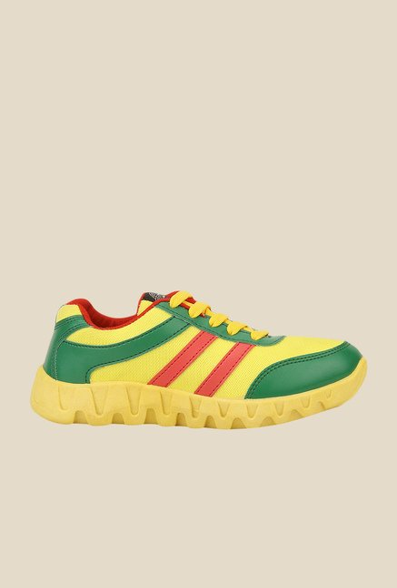 Yepme Yellow & Green Running Shoes