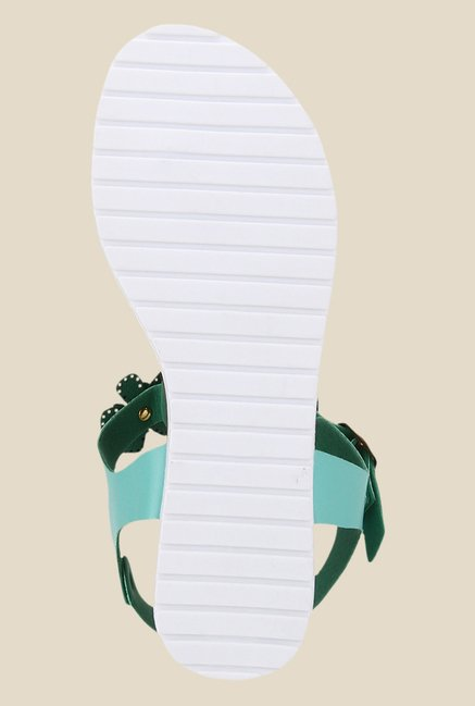 Yepme Turquoise Ankle Strap Sandals