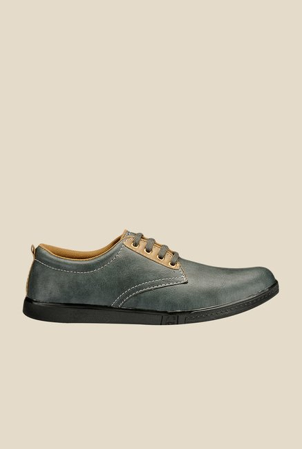Yepme Grey Derby Shoes