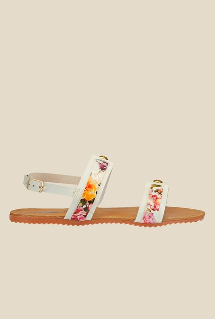 Yepme White Back Strap Sandals