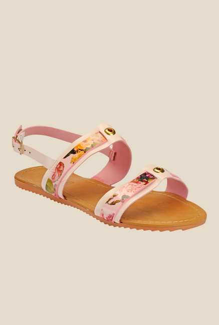 Yepme Pink Back Strap Sandals