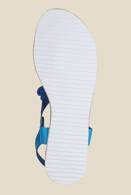 Yepme Blue Back Strap Sandals