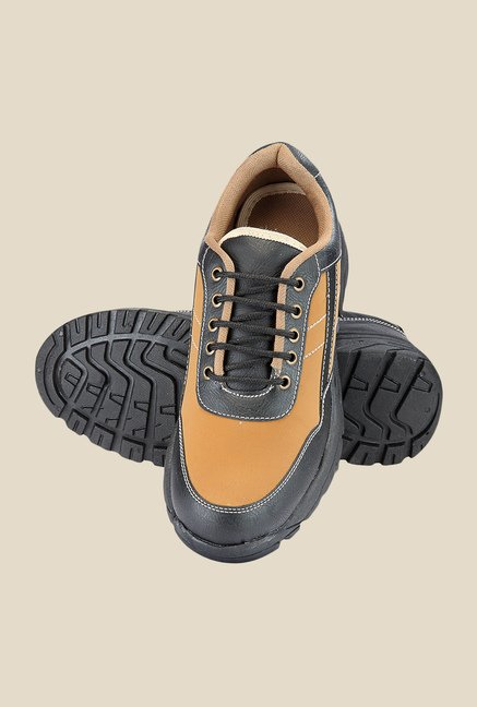 Yepme Tan & Black Casual Shoes