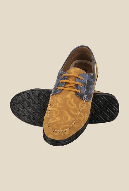 Yepme Chikoo & Blue Boat Shoes