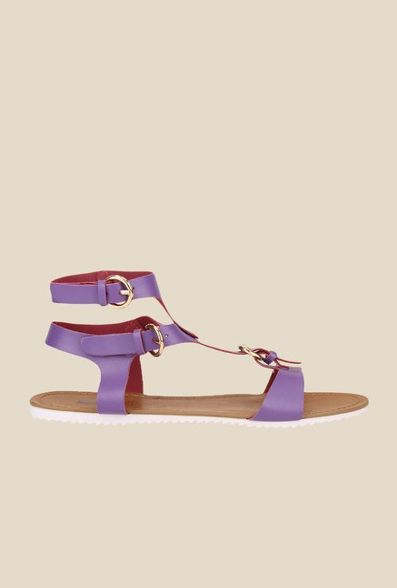 Yepme Purple Ankle Strap Sandals