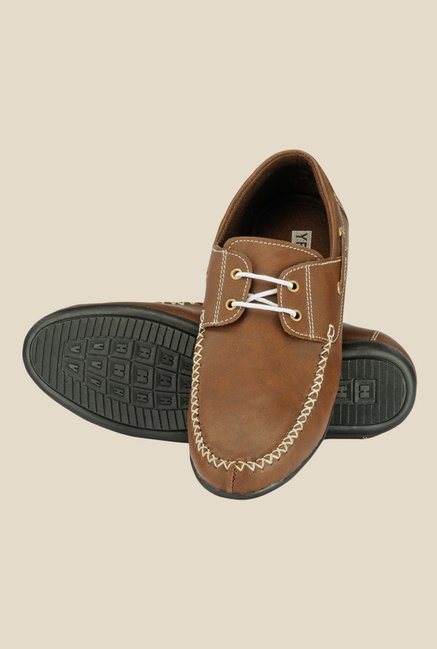 Yepme Brown Boat Shoes