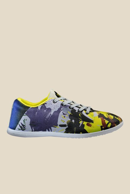 Yepme Yellow & Blue Sneakers