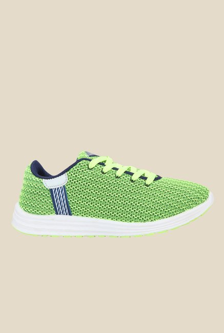 Yepme Green & Navy Sneakers