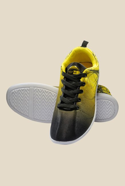Yepme Yellow & Black Sneakers