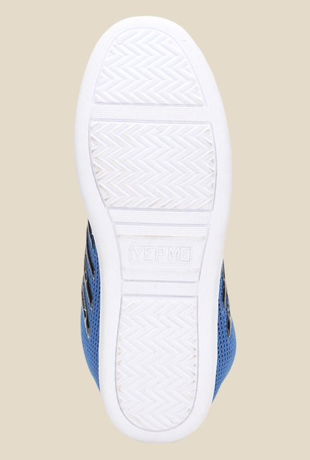 Yepme Blue & Black Sneakers