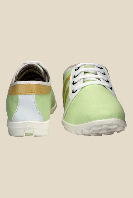 Yepme Green & White Sneakers