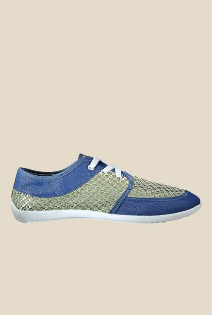 Yepme Green & Blue Sneakers
