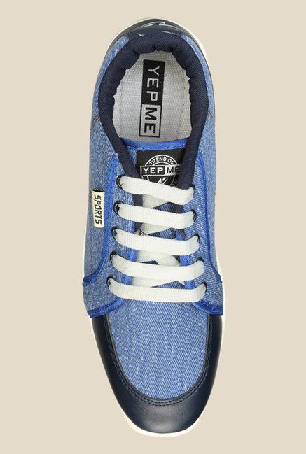 Yepme Blue Casual Sneakers
